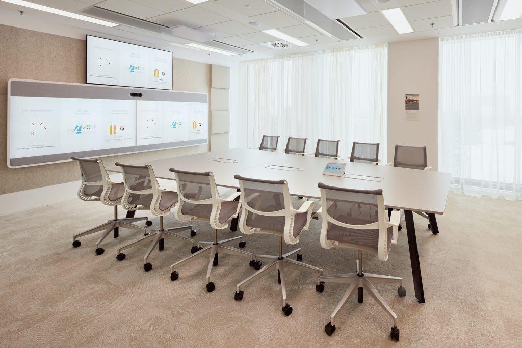 Kanceláře Cisco, foto: Peter Fabo