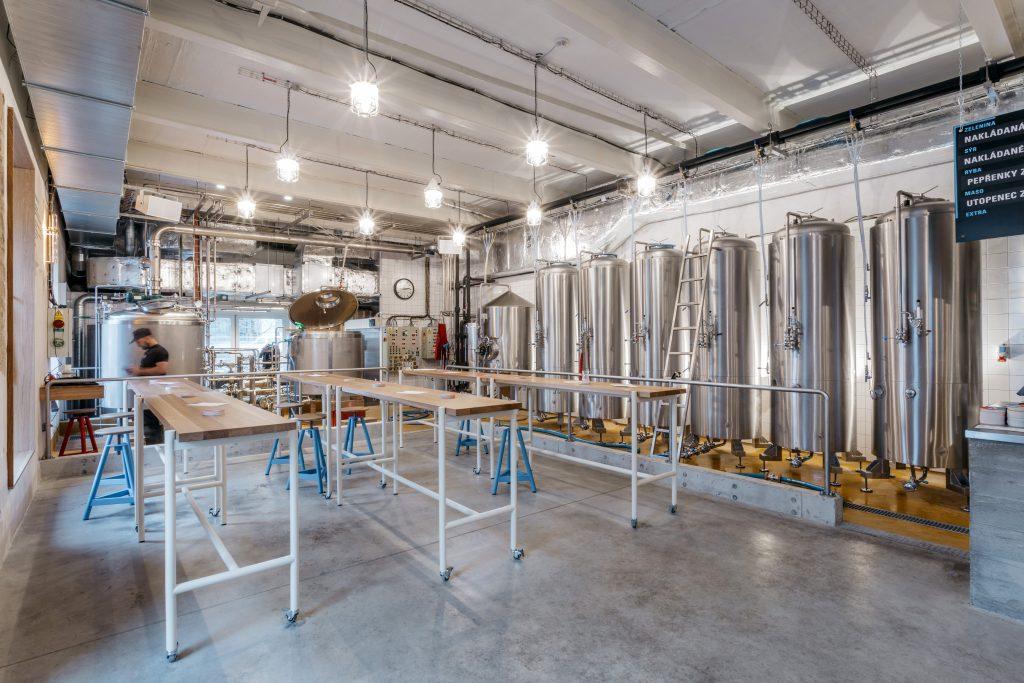 designové pivovary